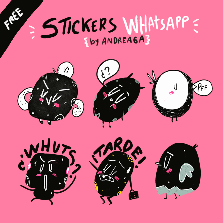 Hacer Sticker Con Photoshop Andreaga